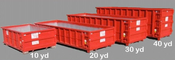 What size dumpsters do you have